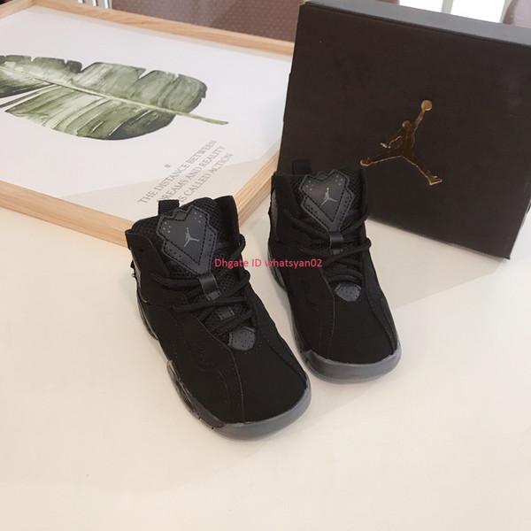 Zapatillas de diseñador para niños, zapatillas de baloncesto nuevas para niños y niñas, suela resistente al desgaste, absorción de golpes, color clásico antideslizante Eursize 24-35
