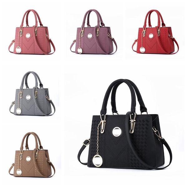 Marca de moda de lujo diseñador bolsos monederos Cruzado bolsas de dama bolso de la mujer del bolso de mano del mensajero del embrague del bolso del totalizador almuerzo Monederos