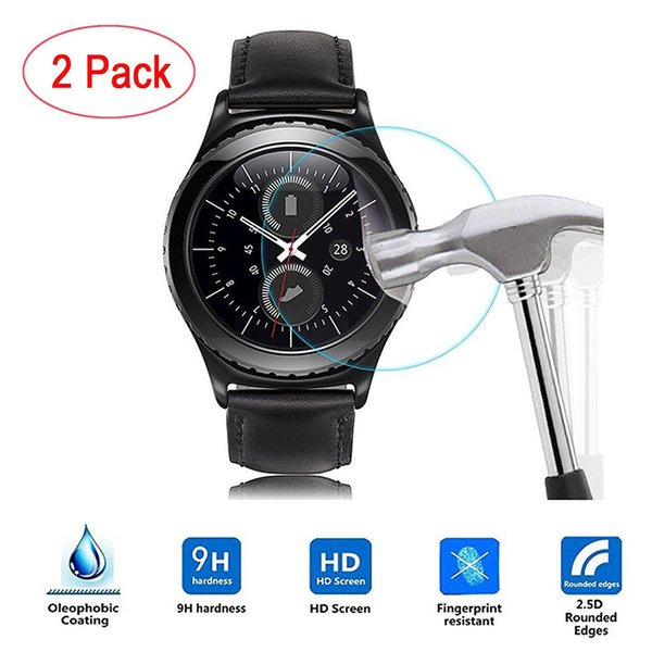 Miracle Moment 2017 2PC Frosted Scrub Screen Protector Film For Samsung Gear S3 Classic Specially Design 0120