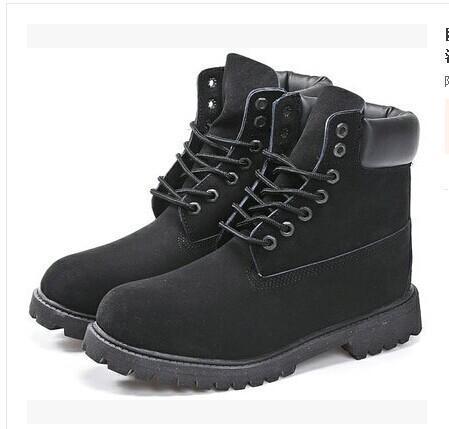 Çizme Gerçek Deri Erkekler Kadınlar kar botları Casual Martin Boots Toptan Moda Marka Ayakkabı v39