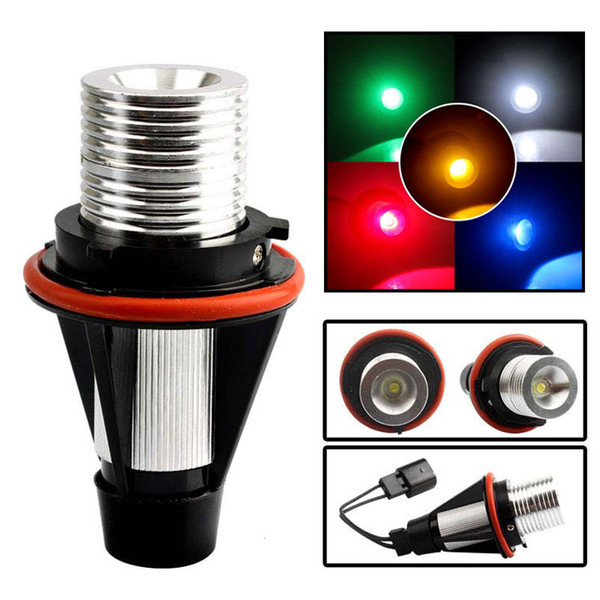 best selling BMW Angel Eyes Light Bulbs LED Headlight Marker Halo Ring Bulb E39 E53 E60 E63 E64 E66 E87 525i 530i xi 545i