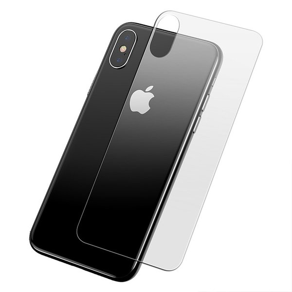 Back Protective Glass for iPhone XS Max XR 5s 7 8 6s Screen Protector Tempered Glass for iPhone X 4s 6 7 8Plus Glass Front+Back