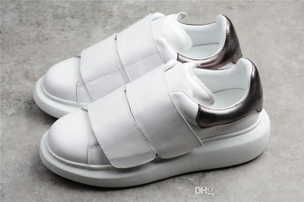 quite nice 50% price watch Acquista Sneakers Uomo Donna Scarpe Casual In Pelle Scarpe Griffate Di  Marca Di Lusso Cravatta Magica Scarpe Da Jogging Estremamente Comode A  $54.9 ...
