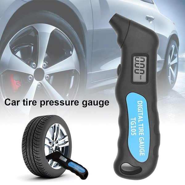 digital car tyre air pressure gauge meter manometer barometer tester m8617