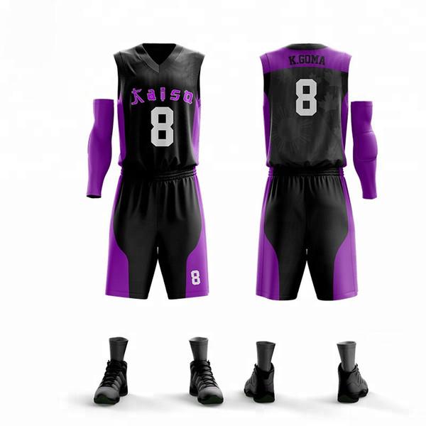 Toptan Yetişkin Kişiselleştirilmiş Baskı Basketbol Formaları Set Yüksek Kalite Basketbol Eğitim Üniforma Özel V Yaka Spor Takım Elbise