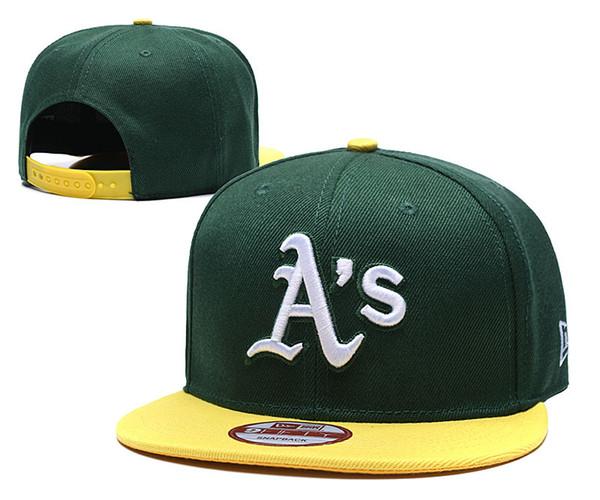 2019 Erkek womens Oakland Atletizm yeni top kap Snapback Miami Marlins örgü Beyzbol şapkaları Texas Rangers Beyzbol tasarımcı şapkalar caps