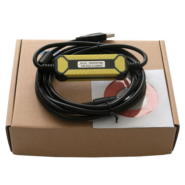 top popular Amsamotiom Updated Version USB-DVOP1960 Suitable Panasonic A4 Series Servo Driver Debugging Cable Download Line USB Computer cable 2021