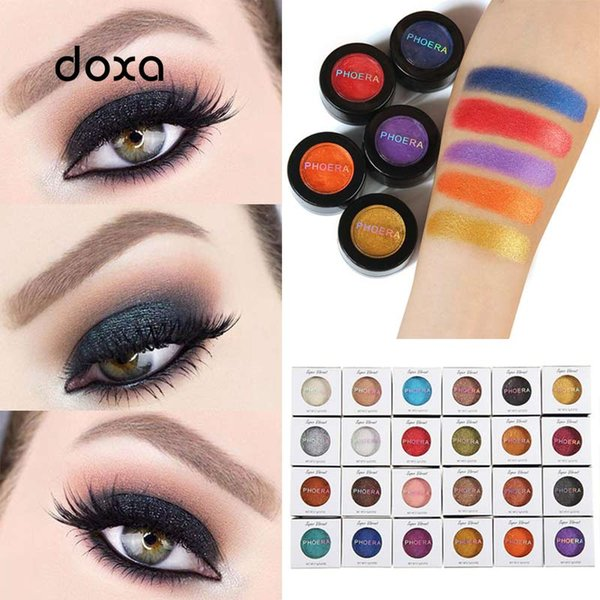 fashion makeup eye shadow soft glitter shimmering colors eyeshadow metallic eye cosmetic for all kinds of skin drop shipping