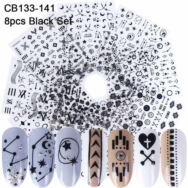 CB133-141 Black set