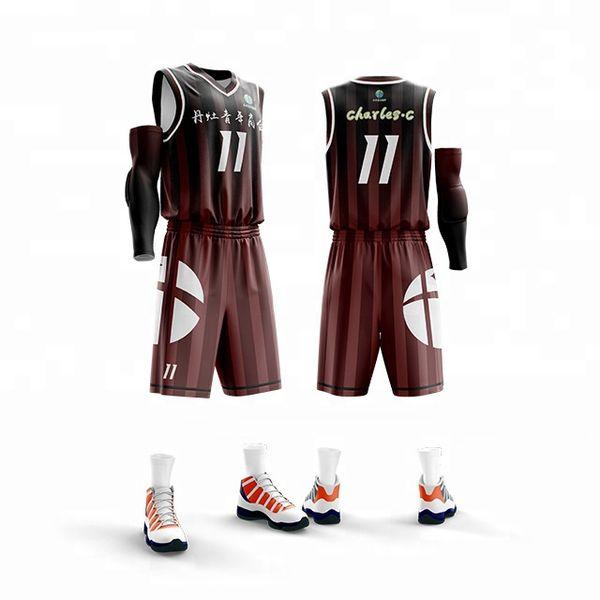 도매 어린이 키즈 성인 대학 농구 유니폼 청소년 농구 유니폼 저렴한 농구 유니폼 반바지 세트, 미국 공 셔츠