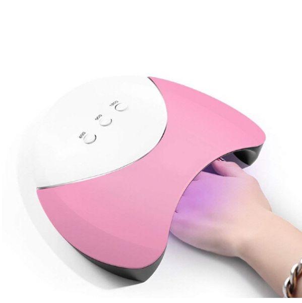 Neue Ankunft 36 Watt Nagel Trockner LED Lampe Nagel Gel Lampe Für Nagelstudio Designs Art Tools Trocknen Schnell Trockner Lampe USB-Lade
