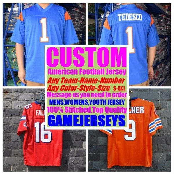 best selling Custom american football jerseys college cheap authentic Outdoor Apparel sports Jersey stitched mens womens youth kids 4xl 5xl 6xl 7xl 8xl