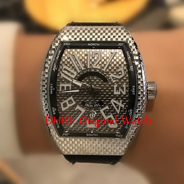 446659f4505 55mm luxo homens relógios relógios de pulso marca original desinger 55    40mm tonneau 316l caixa