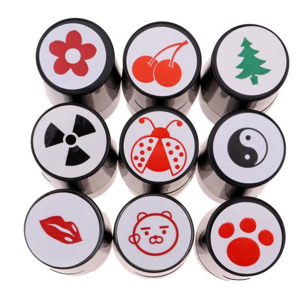 Schnelltrocknende Kunststoff Golf Ball Stamper Stempel Marker Eindruck Dichtung Golf Club Zubehör Symbol Golfer Souvenir Geschenk