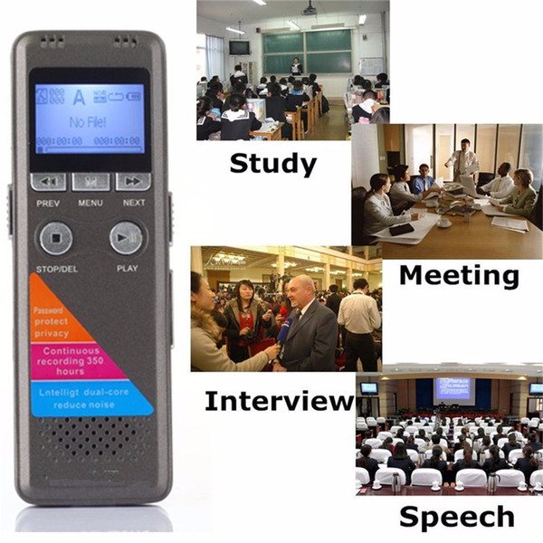 Mini Profession Portable Recorder Pen Digital Voice Recorder Pen Audio Telephone Sound Recorder music MP3 Player FM