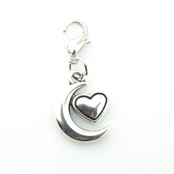 High Quality Heart Jewelry Style I Love You To The Moon and Back Necklace Lobster Clasp Hot Pendant Necklaces Charm Choker Xmas Gift