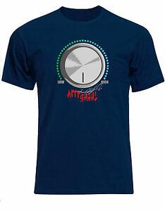 Camisa de gimnasia Pon tu bomba en Hype Nivel de volumen Fuera de la escala Arrrgh Mens Tee AF22