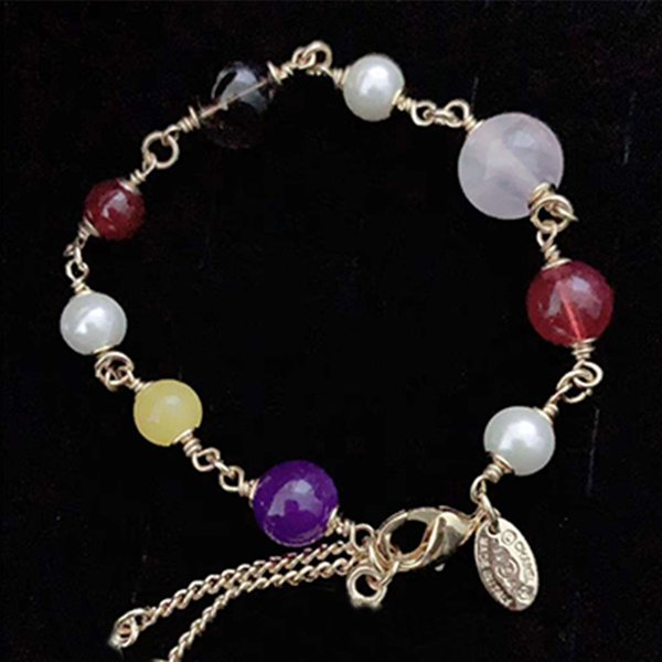 CC Bijoux De Mariage De Haute Qualité Perle Bracelet Pour Les Femmes De Fiançailles De Mariée Pary Accessoires Avec Cristal Cadeaux De Mode