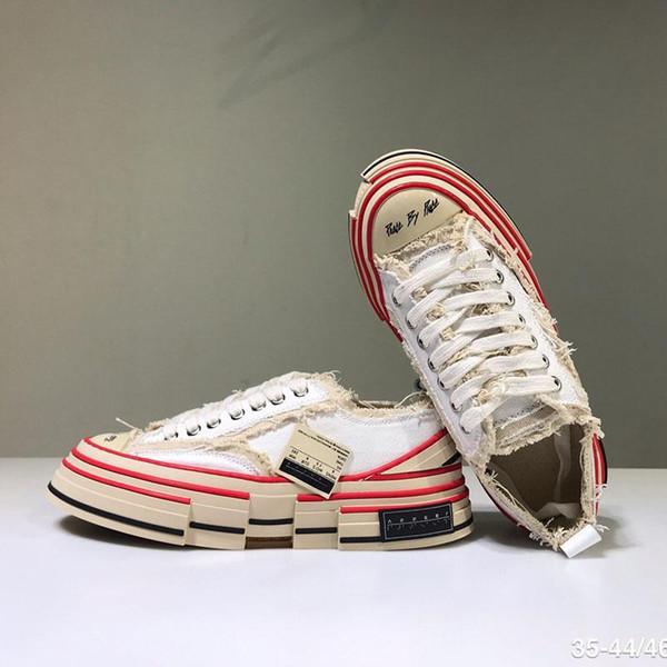 Роскошный XVessel G.O.P. Понижения Холст обувь Мужские Женские TOP качества Модельер судно Рубец S по кусочку Speed Повседневная обувь Z70