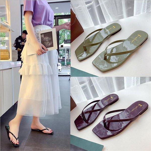 Unisex Summer Beach Slippers Universe Flip-Flop Flat Home Thong Sandal Shoes