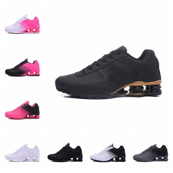 Shox Deliver 809 OZ NZ Running Shoes for Women Men Triple White Black Navy Mens Trainer Athiletic Sports Sneakers