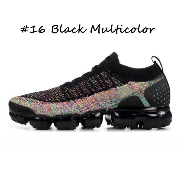 16 Negro Multicolor 36-45