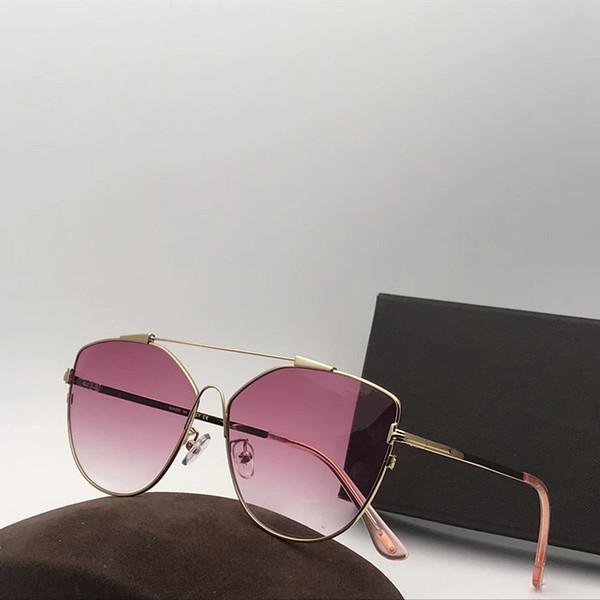 Lusso - 0563 Occhiali da sole da uomo di lusso Designer di marca Moda Montatura quadrata Lente di protezione UV Occhiali da sole stile estivo popolare Alta qualità Vieni