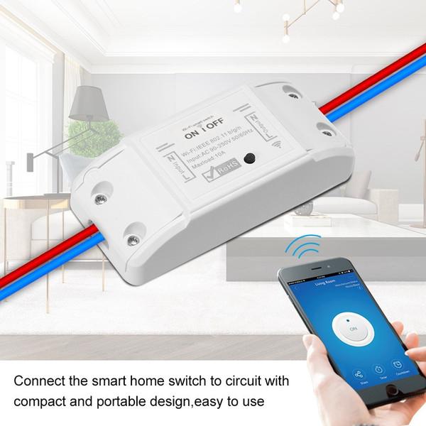 Sonoff Smart WiFi Switch Module Wireless Remote Control Light Switch Smartphone Temperature Humidity Sensor for Smart Home Timer