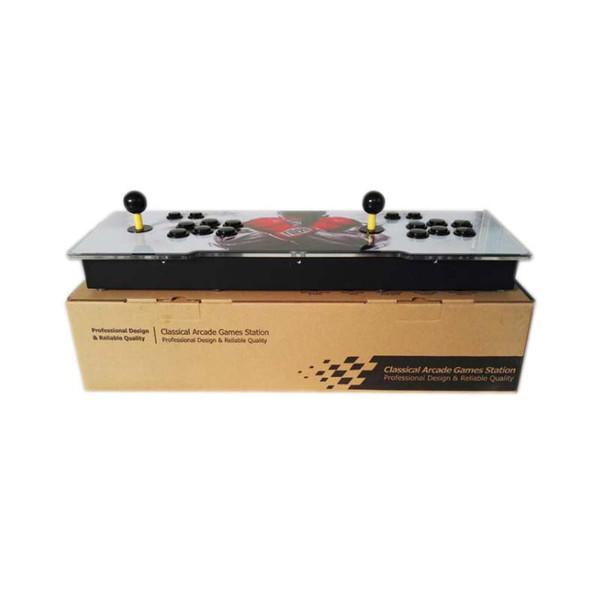 hot Pandora 2263 Giochi Arcade Console VGA / HDMI Uscita LED Superficie Acrilica Sostituita Sanwa Joystick PCB Board Arcade Console