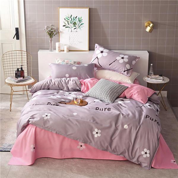Liquidazione Home Textile 4 stagioni universale Biancheria da letto 3 / 4pcs / set Set di biancheria da letto Set di lenzuola Copripiumino Copripiumino Federa