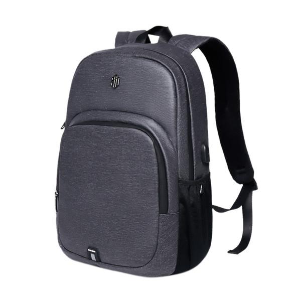 Arctic Men'S Открытый Отдых Компьютерная сумка Ткань Оксфорд Рюкзак Usb зарядки Рюкзак Бизнес Водонепроницаемая сумка