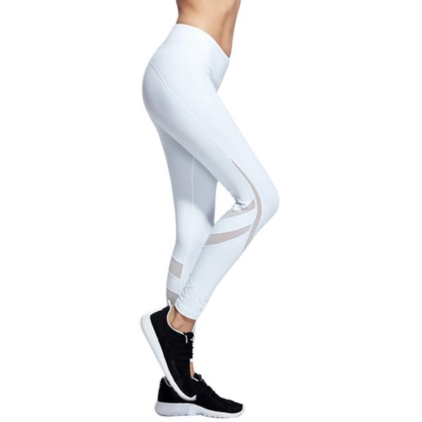 High Quality Sports Professional Trousers Women's Sling Mosaic Quick-drying Fitness Yoga Sports Leggings Running Pants