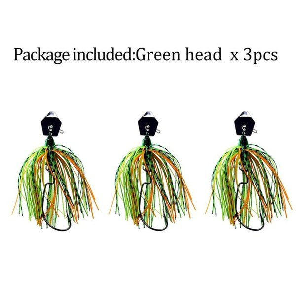 3 pieces greenhead
