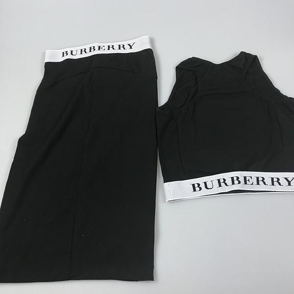 Kadınlar Yoga Etekler Set Moda Siyah Yoga Kıyafetler Set Seksi Tankları Etek Egzersiz Aşınma Yüksek Kaliteli Açık Giyim