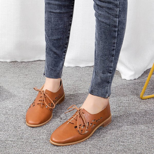 Womens Loafers Shoes Women Summer British Simple Luxury Women Designers Comfort Shoes For Casual