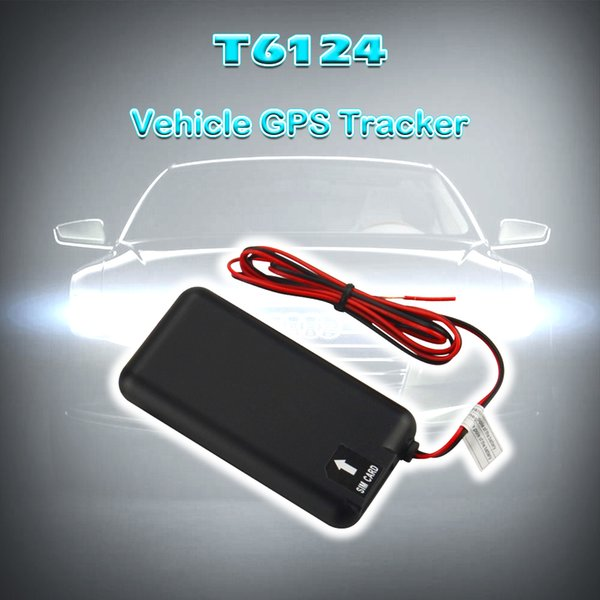 T6124 High Quality Smart GPS Tracking Device For Car GPS Tracker Built-in GPS/GPRS With Anti-theft IPX7 Water-Proof Design
