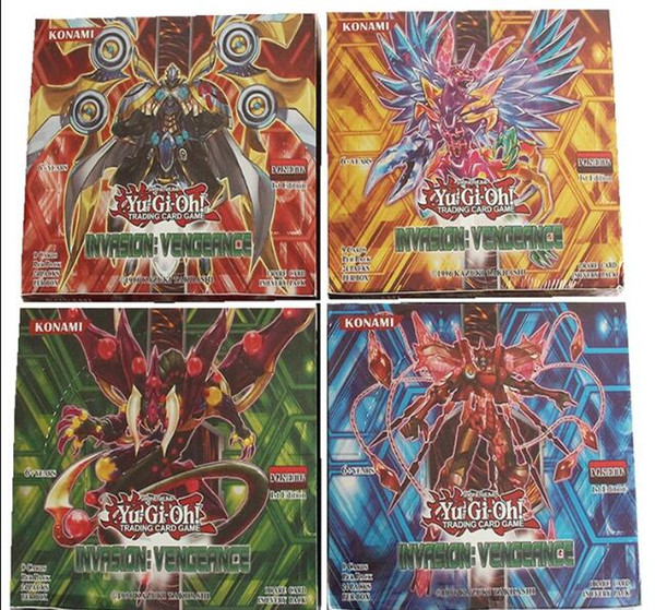 2017 Yugioh Cards Game, Funny Board Game Edizione Inglese, 216PCS Collection Cards Gioca con amici / Famiglia regalo per bambini