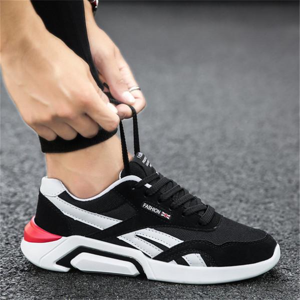 Горячие продажи Дешевая 2020 дышащий холст обувь Chaussures Модельер обувь Кроссовки Белый Черный кроссовки Мужчины Женщины кроссовки