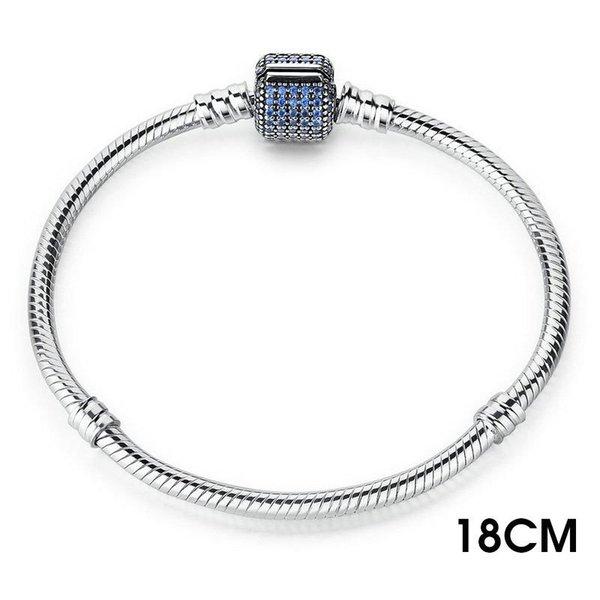 18 centímetros azuis