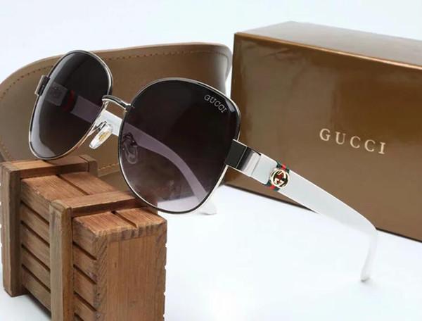 Óculos de sol para homens full frame Óculos de sol de grife vintage para homens Ouro brilhante Logotipo Venda quente Banhado a ouro 4242
