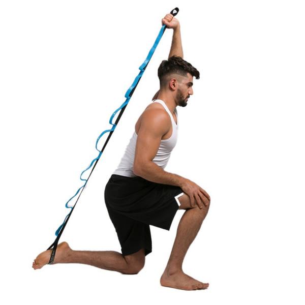2 M Yoga Streç Askı Esneklik Yoga Kayış Çoklu Kavrama Döngüler Ile Sıcak Fiziksel Terapi Büyükşehir Esneklik