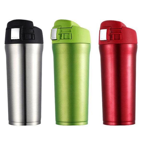 A Termo de Acero Inoxidable Taza Aislante Botella de Deportes para Viajes Camping para Hombre Mujer Ni/ño 500ML