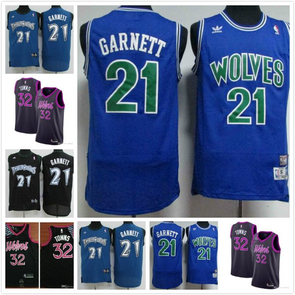 2019 2020 Newest Men Minnesota Timberwolves Basketball Nba Jersey