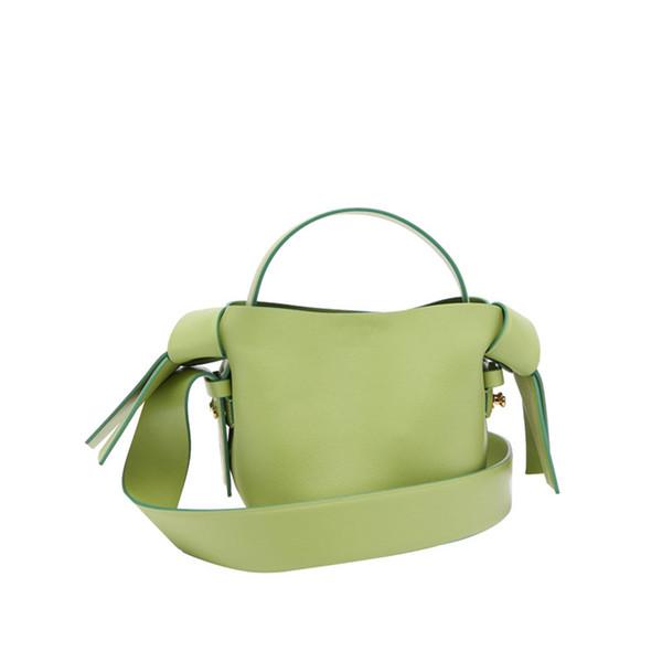 sacs à main occasionnels célébrité Web petit sac de style arc vert avocat femmes couleur design totes sac