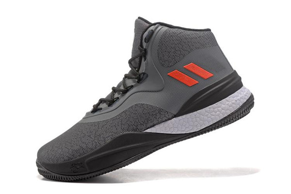 2018 New fashion luxury designer women shoes Arrival D rose ShoeHigh Quality Boots Flame Sports Brand Training Sneakers Size 40-45 A24