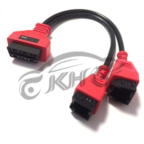 Autel for CHRYSLER -12+8 12 8 MaxiSys MS908S Pro Elite MaxiIM MaxiCheck MaxiCOM MK908P OBD I II DLC Cable Adapters Connector