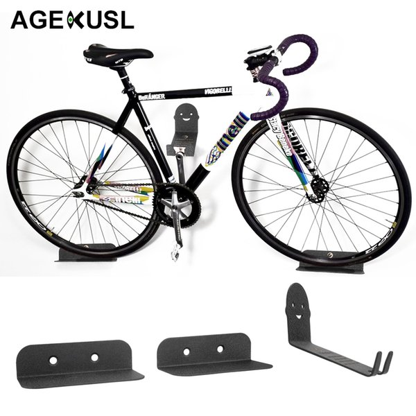 AGEKUSL Innovative Packing Bicycle Bike Racks Wall Mount Storage Holder Stand Support MTB Mountain Road Bike Bicycle Accessories