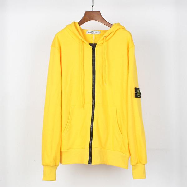Sudadera de diseñador 2019 Principios de otoño Nuevo Suéter Cremallera con capucha Capa fina Abrigos para hombre de diseño Sudaderas TALLA S-XL