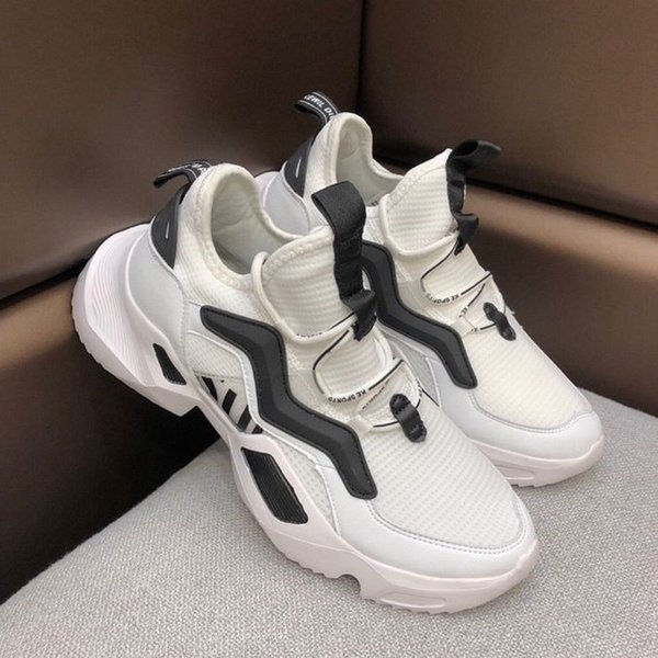 2019 New Men S Casual running Shoes for In Formal Dress Lace-Up comfortable