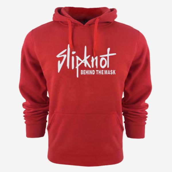 New Men Slipknot Designer Casual Hoodies Sweatshirt Solid Color Print Trend Fleece Cotton Pullover Coat Warm Clothes Factory Outlet